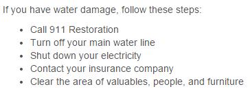 Water Damage 30024